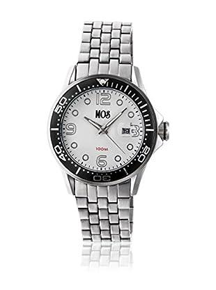 Mos Reloj con movimiento cuarzo japonés Mospb101 Plateado 44  mm