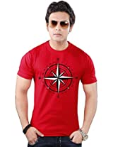 Clifton Graphic T shirts Red(S)