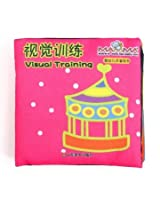 Baby Kid Child Intelligence Development Learn Cognize Cloth Book Educational Toy (Visual training)
