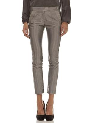 Trussardi Pantalón Dibujo (gris)