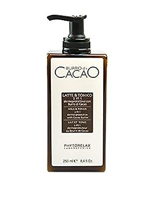 Phytorelax Detergente e Tonico 2 in 1 Burro Cacao 250 ml