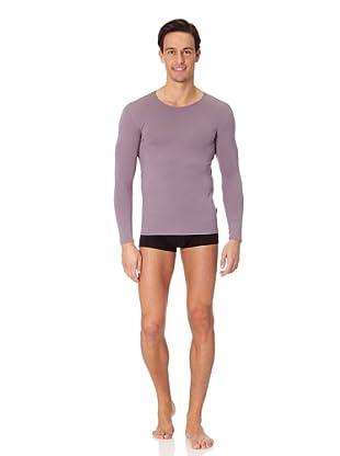 Jolidon Camiseta manga larga Hombre basic (gris)