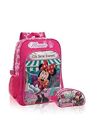 Disney Rucksack + Etui Minnie Sew