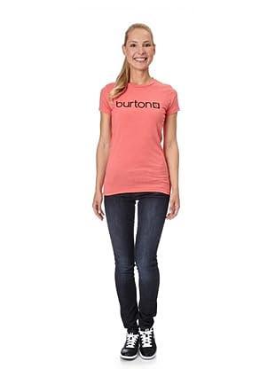 Burton Camiseta Logo (rojo)
