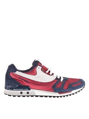 Diesel Zapatillas (rojo / marino)