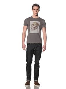 Tee Library Men's Genesis Crew Neck T-Shirt (Grey)