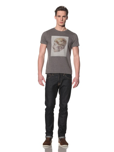Tee Library Men's Genesis Crew Neck T-Shirt (Grey)