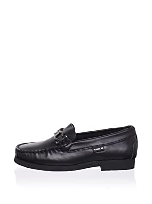 Pliner Jrs Oliver Loafer (Black Leather)