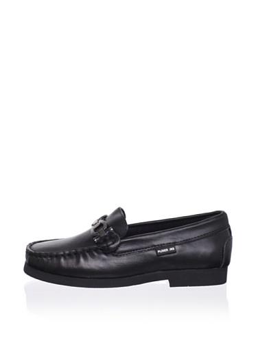 Pliner Jrs Oliver Loafer (Black Leather)
