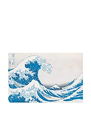 Artopweb Panel Decorativo Hokusai The Great Wave Of Kanagawa 60x90 cm Multicolor