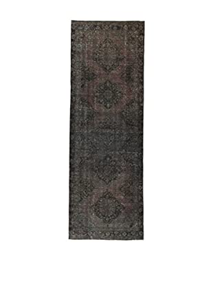 Design Community By Loomier Teppich Anatolian Vintage anthrazit 136 x 395 cm