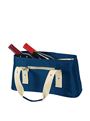 Picnic Time Alexis Insulated Lunch/Wine Tote (Navy)