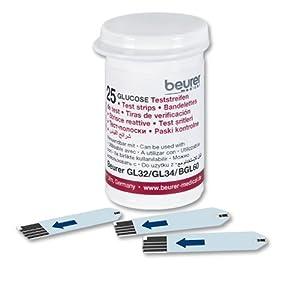 Beurer Medical GL 32 Test Strips