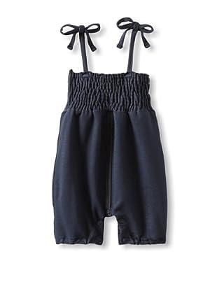 Mish Mish Baby Strap Jeans Romper (Denim Flower)