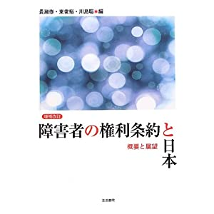 『[増補改訂] 障害者の権利条約と日本――概要と展望』