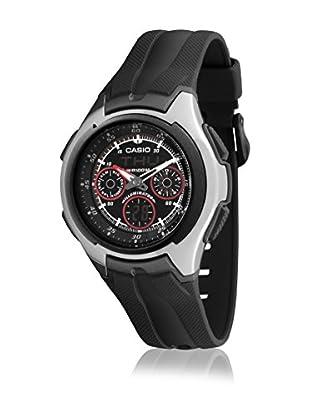 Casio Reloj con movimiento cuarzo japonés Man AQ-163W-1B2 Negro