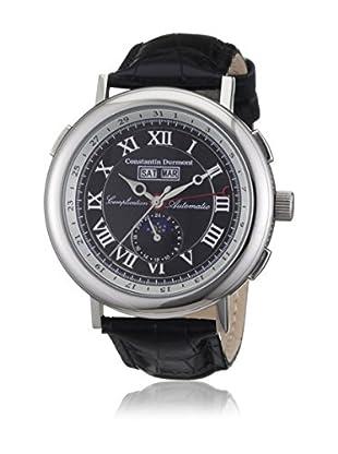 Constantin Durmont Reloj automático Unisex CD-AUST-AT-LT-STST-BKWH  44 mm