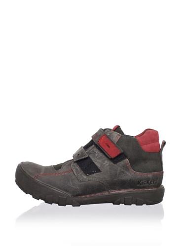 Kickers Kid's Rango High Sneaker (Toddler/Little Kid) (Grey)