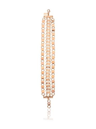 Tuleste Market Multi-Strand Anklette, Rose Gold