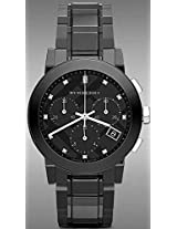 Burberry Ceramic Chronograph Mens Watch Bu9082