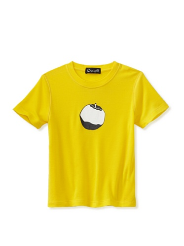 A for Apple Rat T-Shirt with Logo Apple (Yellow)