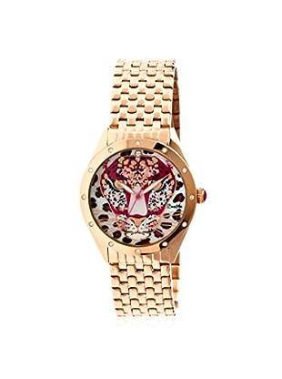Bertha Women's BR4704 Alexandra Stainless Steel Watch, Rose Gold/Red