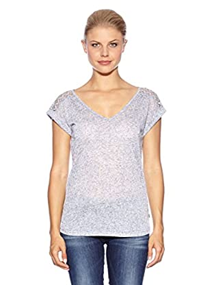 Anna Scott Camiseta Triple (Gris Azulado)