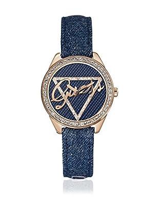 GUESS Reloj de cuarzo Woman W0456L6 Dorado / Negro