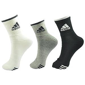 Adidas Socks with Ribbed Cuff - Set of 3 Pairs