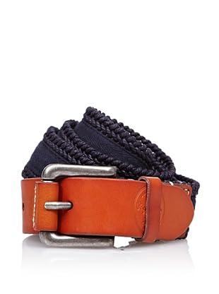 Pepe Jeans London Cinturón Fly (Azul / Camel)
