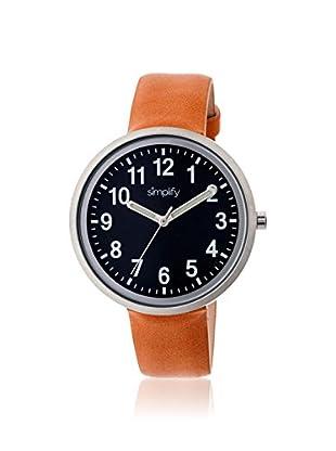 Multi Women's SIM2603 The 2600 Camel/Black Leather Watch