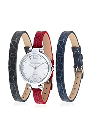Park Avenue Reloj de cuarzo Woman Rojo / Azul 32 mm
