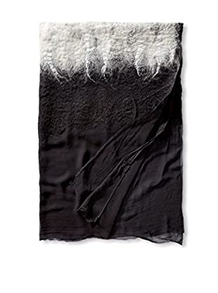 Uptown Down Alchemy Throw, Black Pearl