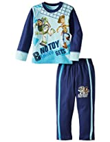 Disney Boy's Buzz Lightyear And Hobby Pyjama Set