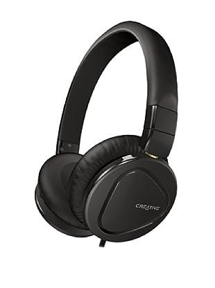 Creative Hitz MA2600 - Auriculares de diadema cerrados (con micrófono), negro