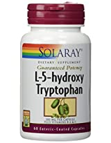 Solaray - L-5-Hydroxy Tryptophan, 100 mg, 60 capsules