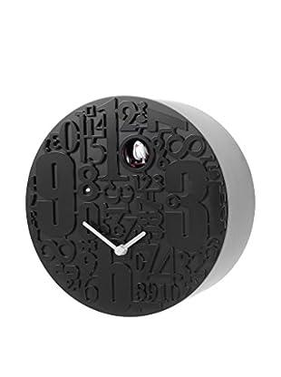 Diamantini & Domeniconi Reloj de Cuco Metropolis Negro