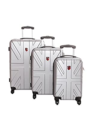 Geographical Norway Set de 3 trolleys rígidos Shofar