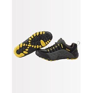 Cyke Men's Sports Grey Black Shoes