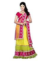 Diva Fashion-Surat Women's Net Embroidered Lehenga choli