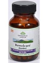 Organic India Bowelcare Capsules 60 Capsules