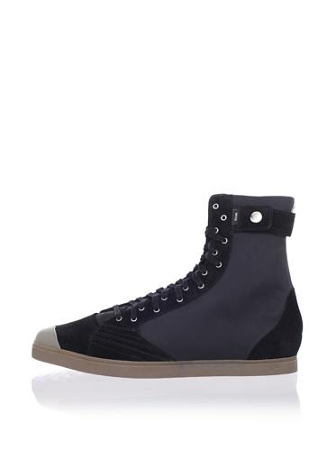 adidas SLVR Women's SLVR Fashion Mid II Sneaker (Black/Black/Tarnish)