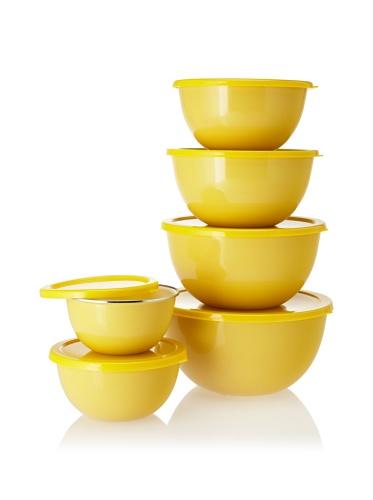 Reston Lloyd Calypso Basics 12-Piece Bowl Set (Lemon)