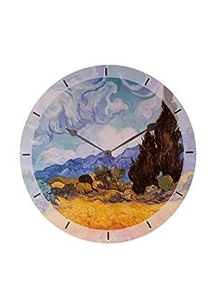 Artopweb Reloj De Pared Van Gogh Cypress Trees