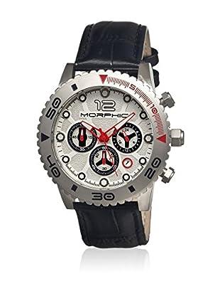 Morphic Reloj con movimiento cuarzo japonés Mph3301 Negro 43  mm