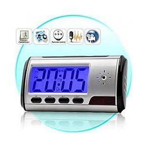 Mono Table Clock Digital Camera With Remote