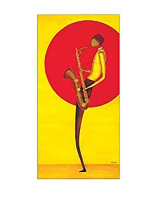 Artopweb Panel Decorativo Ona Jazz Man II 100x50 cm Multicolor