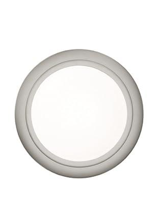 Oluce 1960 #164 Medium Wall/Ceiling Light, Brushed Silver