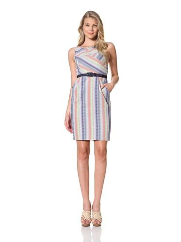Eva Franco Women's Bex Sleeveless Fitted Dress (Denmark)