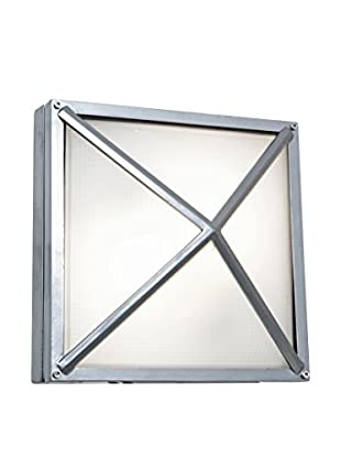 Access Lighting Oden LED 1-Light Wet Location Wall Sconce, Satin/Frosted